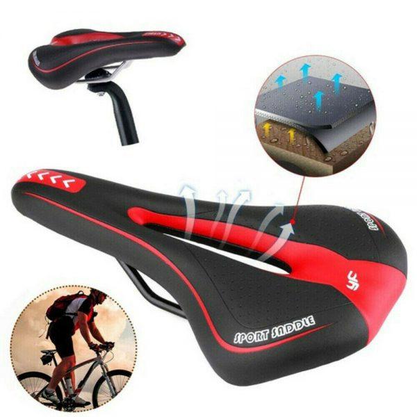 Bicycle Mtb Bike Cycling Saddle Road Mountain Gel Pad Sports Soft Cushion Seat (4)