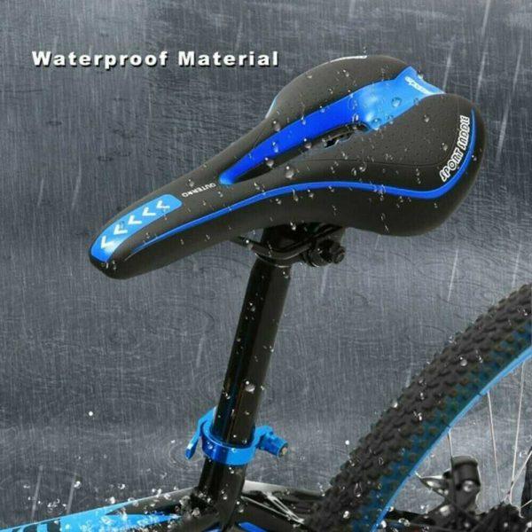 Bicycle Mtb Bike Cycling Saddle Road Mountain Gel Pad Sports Soft Cushion Seat (8)