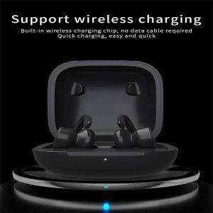 Black Sports Earhooks Tws Earpiece Ture Power Display Quiet Comfort Earbuds (5)
