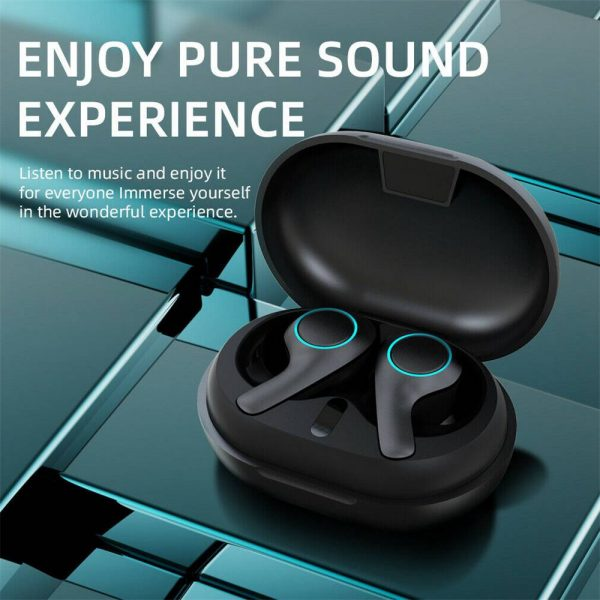 Bluetooth 5.0 Headset Tws Wireless Earphones Earbuds Stereo Dual Headphones For Ios Android (12)