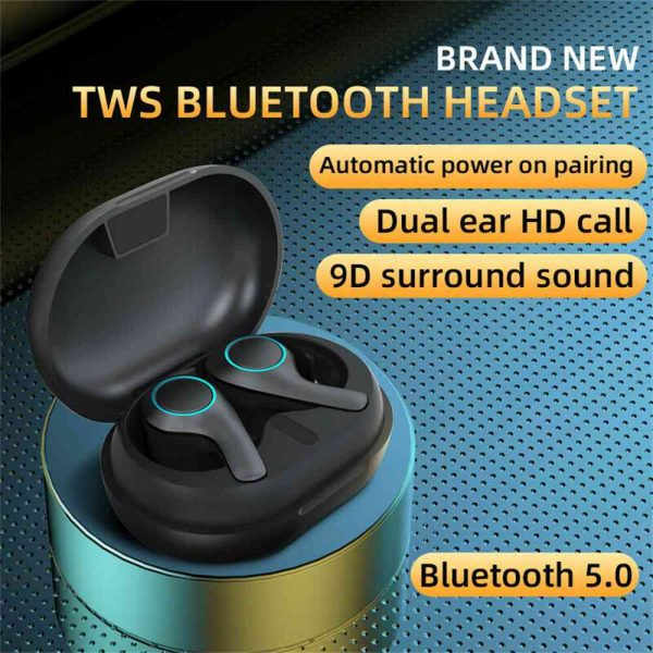 Bluetooth 5.0 Headset Tws Wireless Earphones Earbuds Stereo Dual Headphones For Ios Android (2)