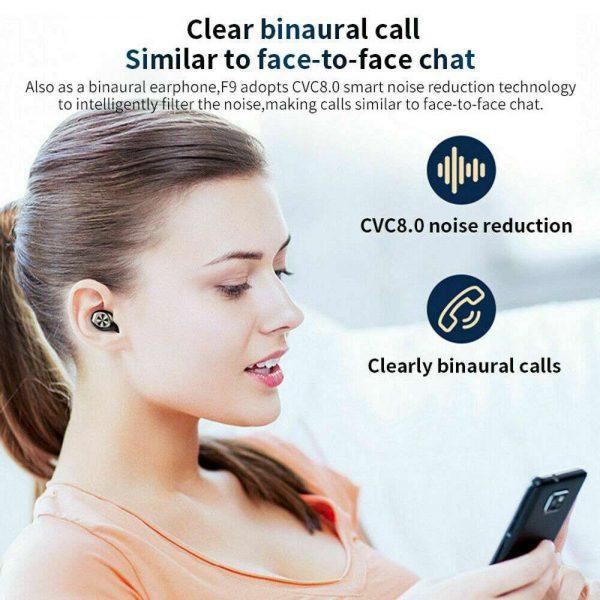 Bluetooth 5.0 Tws Wireless Earbuds Headphones In Ear Earphones Fit Ios Android (11)