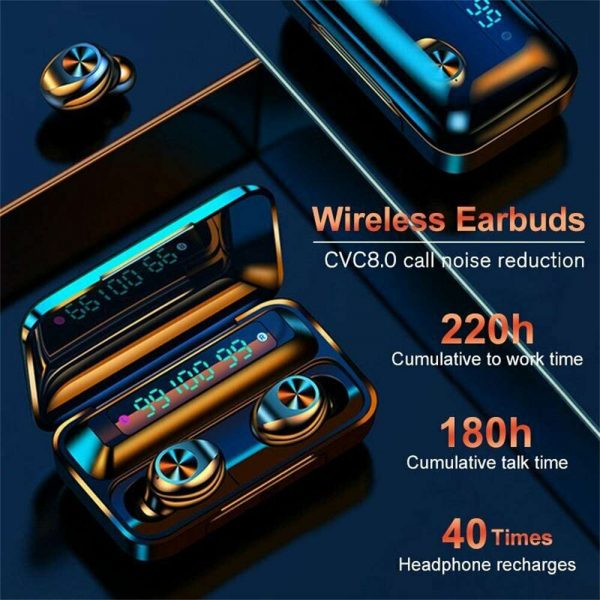 Bluetooth 5.0 Tws Wireless Earbuds Headphones In Ear Earphones Fit Ios Android (13)