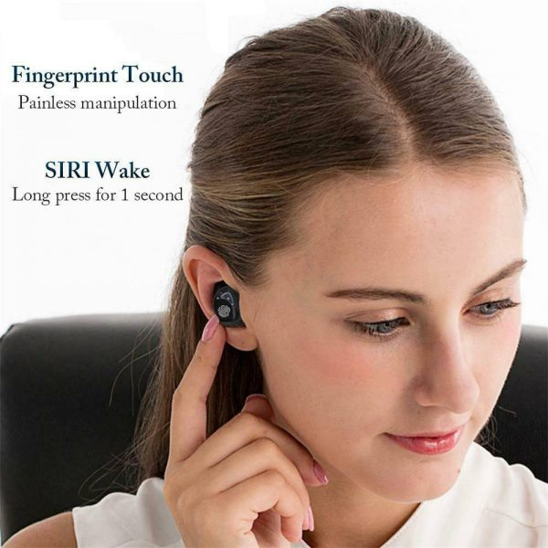 Bluetooth 5.0 Tws Wireless Earbuds Headphones In Ear Earphones Fit Ios Android (17)