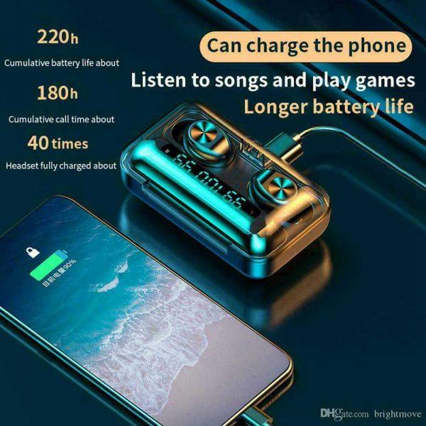 Bluetooth 5.0 Tws Wireless Earbuds Headphones In Ear Earphones Fit Ios Android (8)