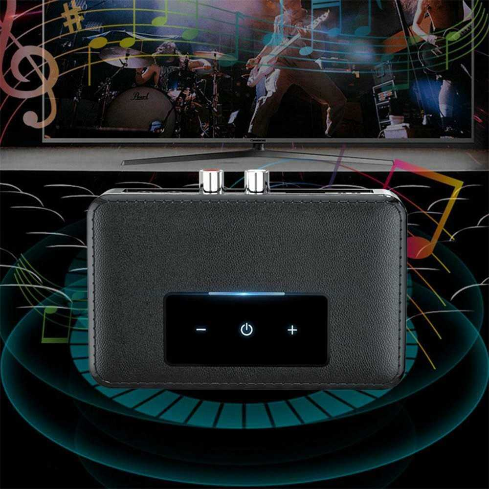 Bluetooth 5.0 Transmitter Receiver Wireless 3.5mm Aux Nfc To 2 Rca Audio Adapter (18)