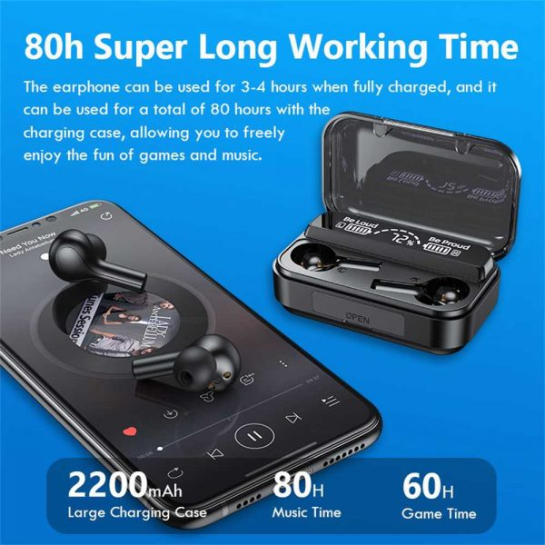 Bluetooth 5.0 Wireless Headphones Earphones Mini In Ear Pods For Iphone Android (11)