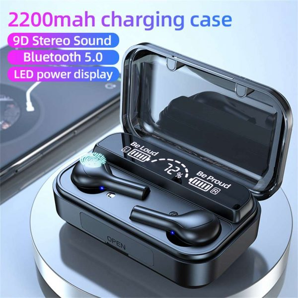 Bluetooth 5.0 Wireless Headphones Earphones Mini In Ear Pods For Iphone Android (2)