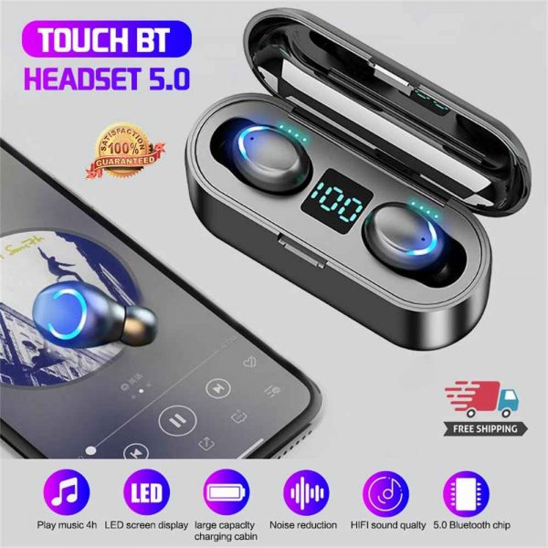 Bluetooth Earbuds For Iphone Samsung Android Wireless Earphone Waterproof Ipx7 (12)