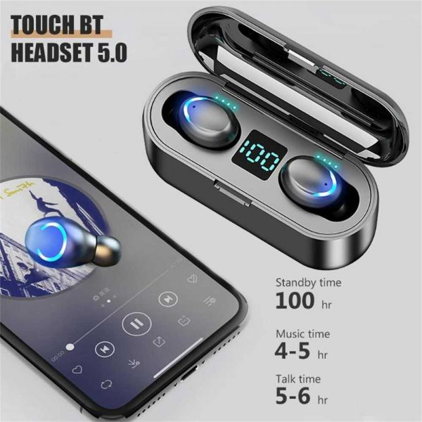 Bluetooth Earbuds For Iphone Samsung Android Wireless Earphone Waterproof Ipx7 (2)