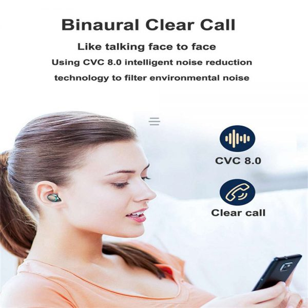 Bluetooth Earbuds For Iphone Samsung Android Wireless Earphone Waterproof Ipx7 (9)