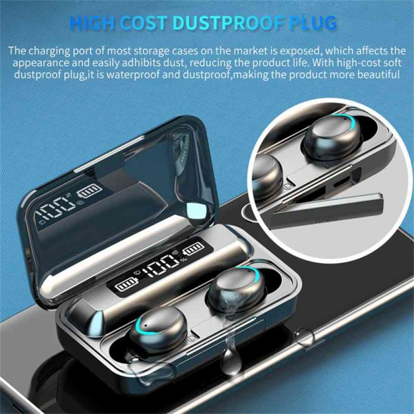 Bluetooth Earbuds For Iphone Samsung Android Wireless Earphone Waterproof Outdoor Sport Headset (3)