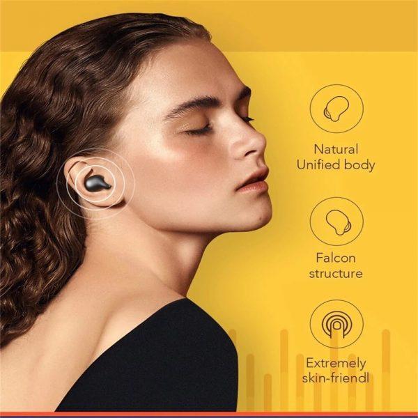 Bluetooth Headphones Smart Earbuds Wireless Hd Stereo Noise Lsolation Earphones (2)