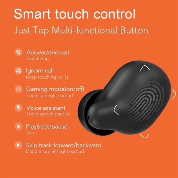Bluetooth Headphones Smart Earbuds Wireless Hd Stereo Noise Lsolation Earphones (3)