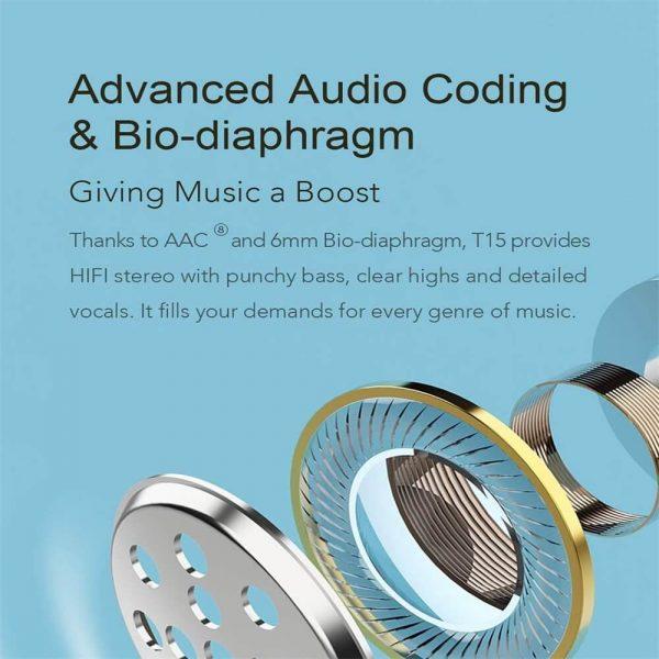 Bluetooth Headphones Smart Earbuds Wireless Hd Stereo Noise Lsolation Earphones (4)