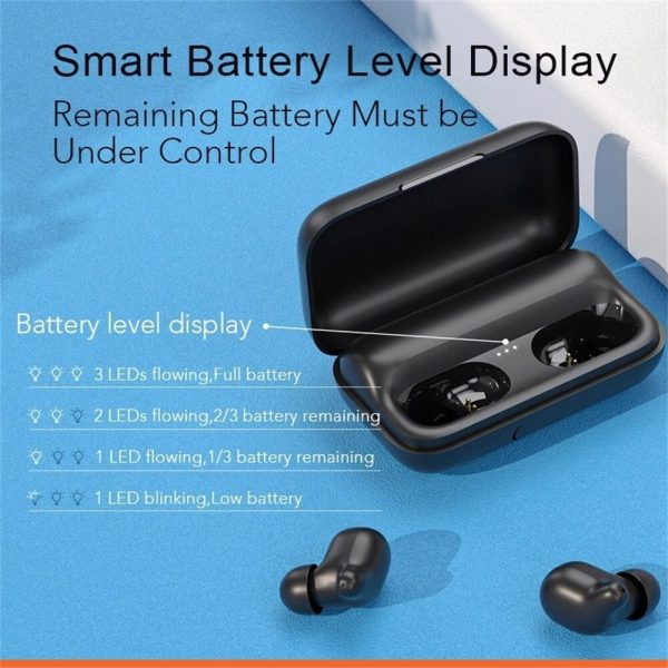 Bluetooth Headphones Smart Earbuds Wireless Hd Stereo Noise Lsolation Earphones (5)