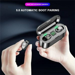 Bluetooth Wireless Earbuds In Ear Touch Control Headphones Led Charging Case High Capacity (2)