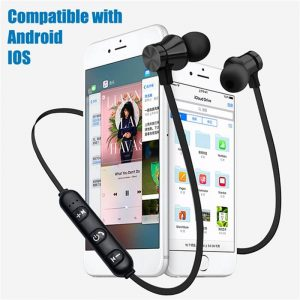 Bluetooths Earphone Wired Headphone With Mic In Ear Neckband Headphone Sport Magnetic Earbuds (4)