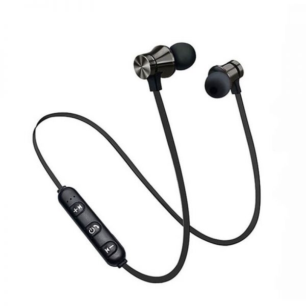 Bluetooths Earphone Wired Headphone With Mic In Ear Neckband Headphone Sport Magnetic Earbuds (6)
