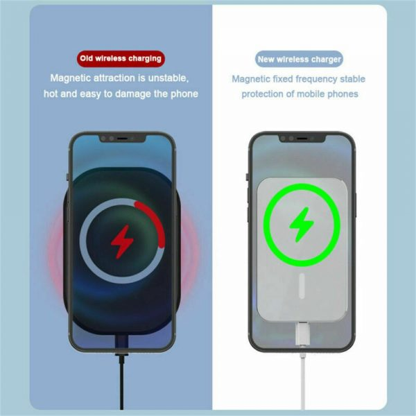 Car Wireless Fast Charger Magnetic Phone Mount Holder For Iphone 12 Pro Max Mini (8)