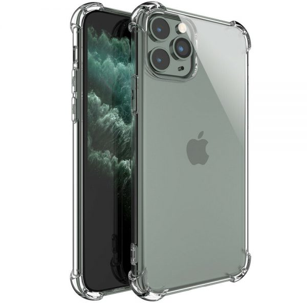 Clear Shockproof Tpu Slim Hard Phone Cover For Iphone 11,12 Mini,12 Pro Max Case (4)