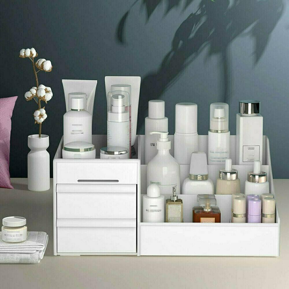 Desktop Storage Box Makeup Drawers Organizer Box Jewelry Container Case Cosmetic (12)
