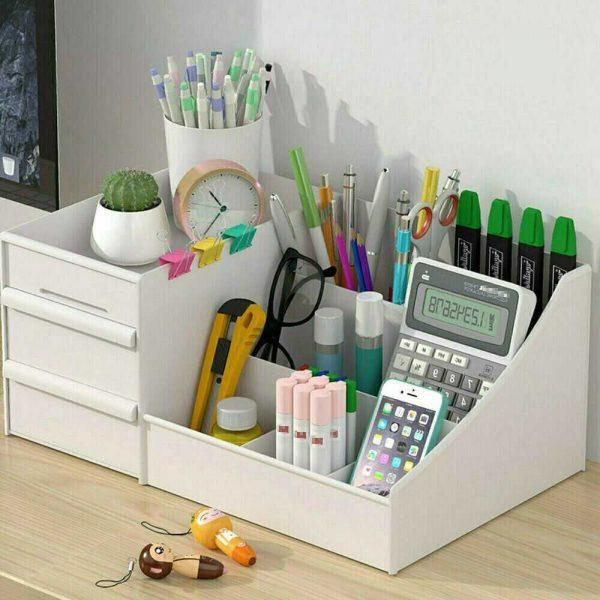 Desktop Storage Box Makeup Drawers Organizer Box Jewelry Container Case Cosmetic (13)