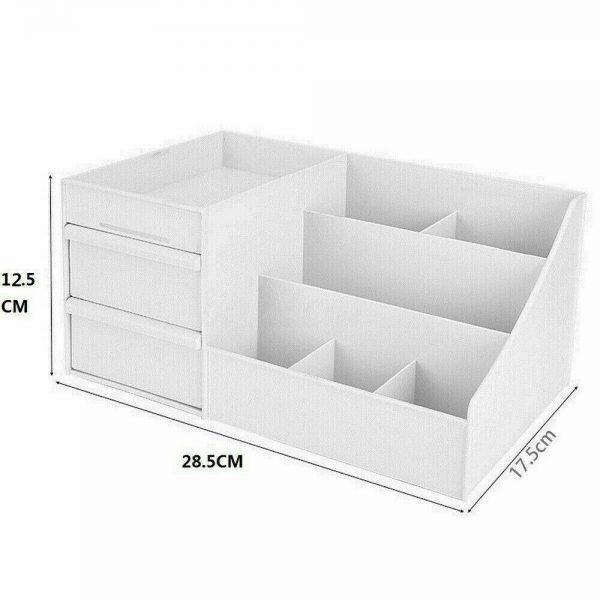 Desktop Storage Box Makeup Drawers Organizer Box Jewelry Container Case Cosmetic (14)