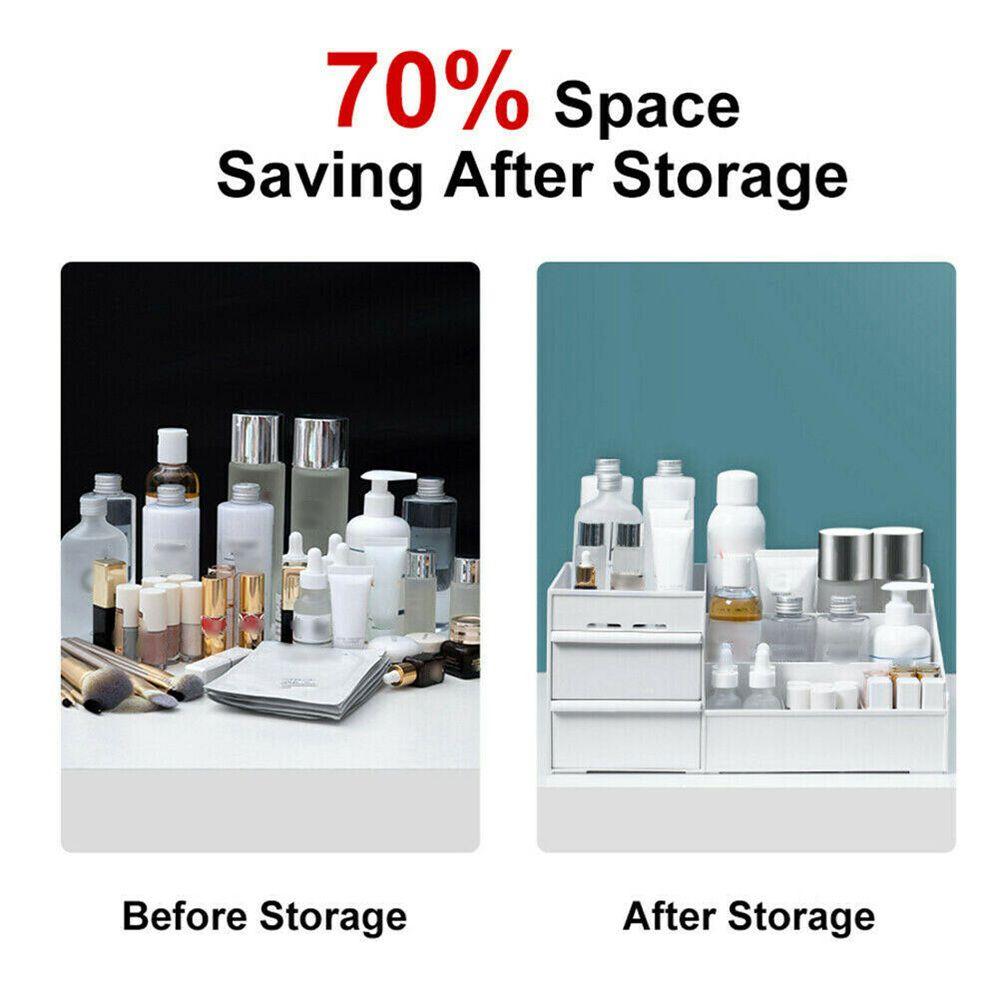 Desktop Storage Box Makeup Drawers Organizer Box Jewelry Container Case Cosmetic (18)
