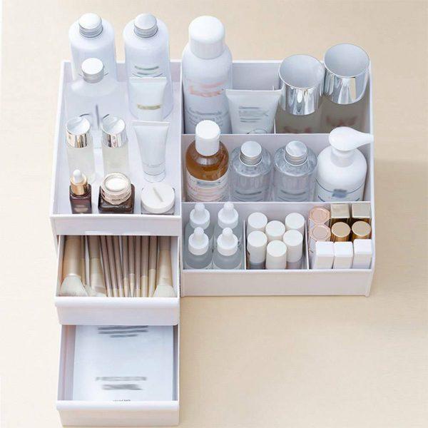 Desktop Storage Box Makeup Drawers Organizer Box Jewelry Container Case Cosmetic (21)