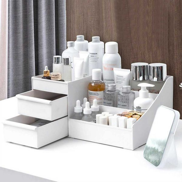 Desktop Storage Box Makeup Drawers Organizer Box Jewelry Container Case Cosmetic (6)