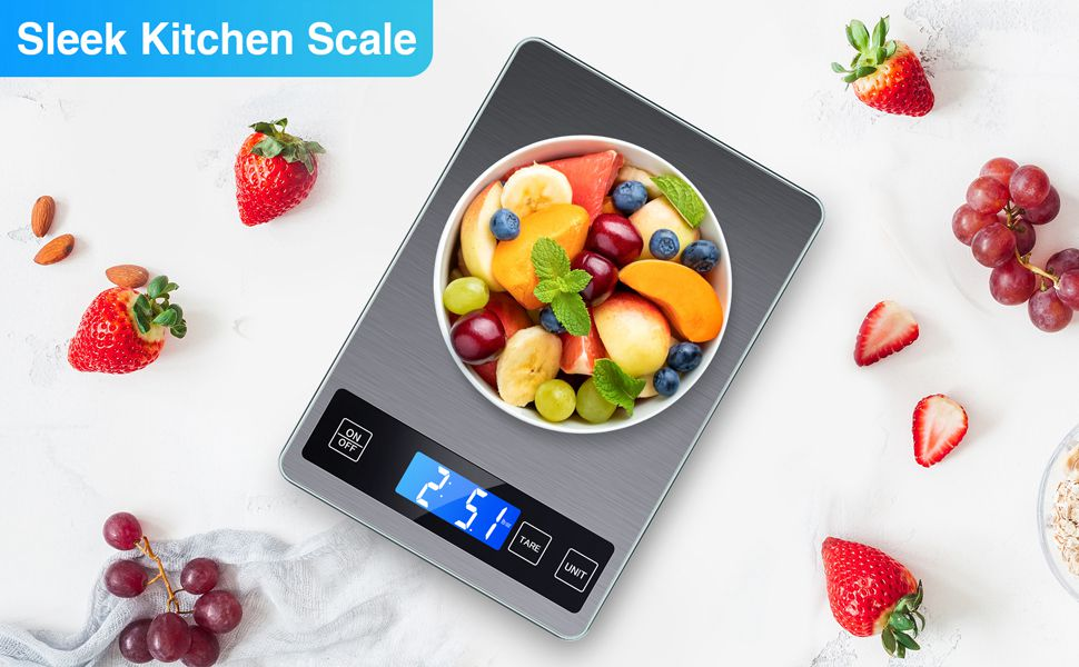 Digital Lcd 1g 10kg Kitchen Electronic Balance Scale Food Weight Steel Scales (13)