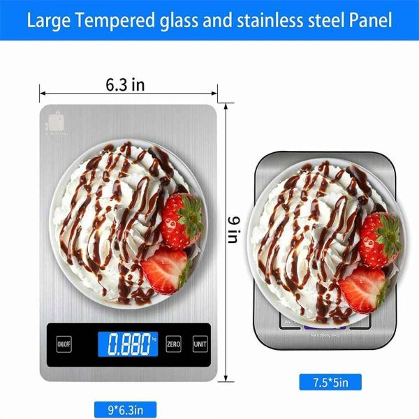 Digital Lcd 1g 10kg Kitchen Electronic Balance Scale Food Weight Steel Scales (7)