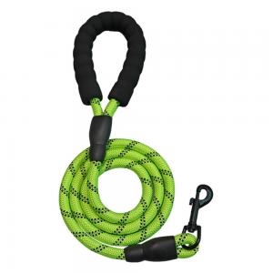 Dog Lead Rope Leash Large Leads Nylon Padded Soft Walking Reflective Braided5ft (1)