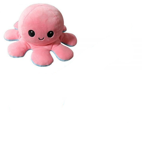 Double Sided Octopus Flip Reversible Marine Life Animals Doll Octopus Plush Toy 9 600x600 副本