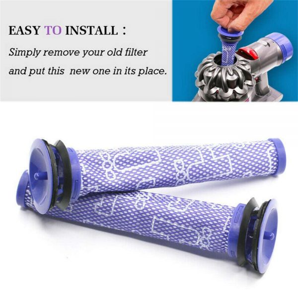 Dyson V6 V7 V8 Pre Filter Genuine Animal Vacuum Cleaner Washable Cone Pre Dc59 (14)