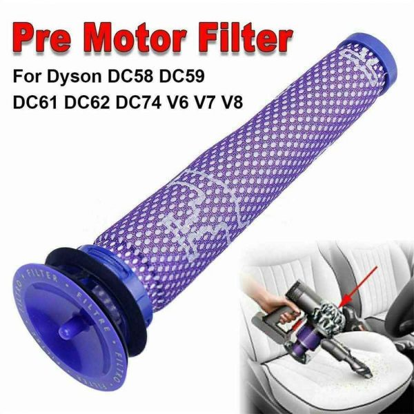 Dyson V6 V7 V8 Pre Filter Genuine Animal Vacuum Cleaner Washable Cone Pre Dc59 (15)
