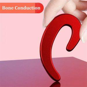 Ear Bluetooth Bone Conduction Headphones Stereo Wireless Earphone Headset+mic (11)