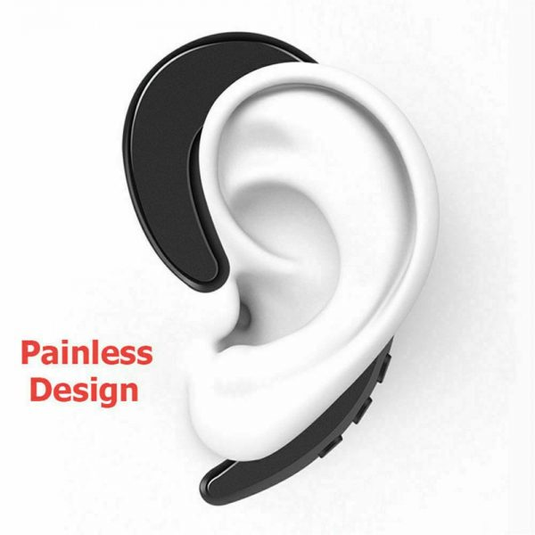 Ear Bluetooth Bone Conduction Headphones Stereo Wireless Earphone Headset+mic (13)