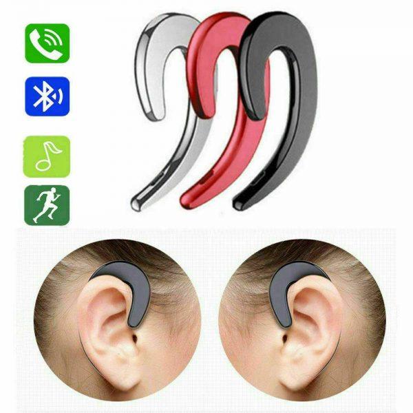 Ear Bluetooth Bone Conduction Headphones Stereo Wireless Earphone Headset+mic (14)