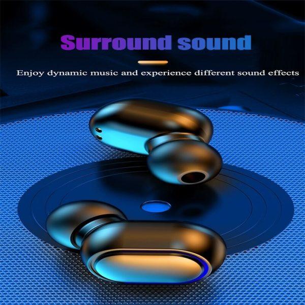 Earbud Stereo Noise Canceling Wireless Tws Earphones Mini Earbuds Portable Headphones (10)