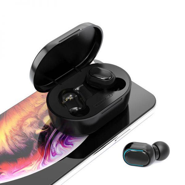 Earbud Stereo Noise Canceling Wireless Tws Earphones Mini Earbuds Portable Headphones (2)
