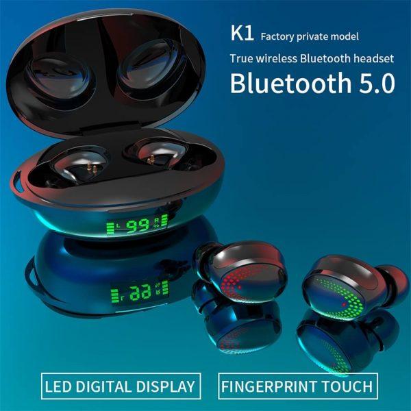 Earbuds In Ear Blutooth 5.0 Headphones Sports Binaural Hifi Sounds True Wireless Stereo Earbuds (2)