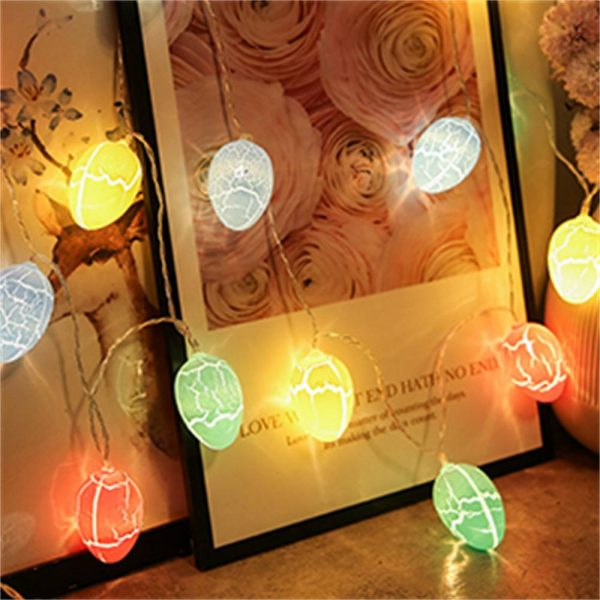 Easter Egg Decorations String Lights Led Festive Fairy Inoutdoor Home Party (11)