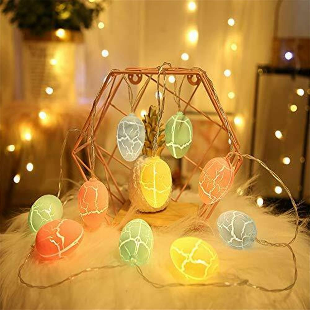 Easter Egg Decorations String Lights Led Festive Fairy Inoutdoor Home Party (14)
