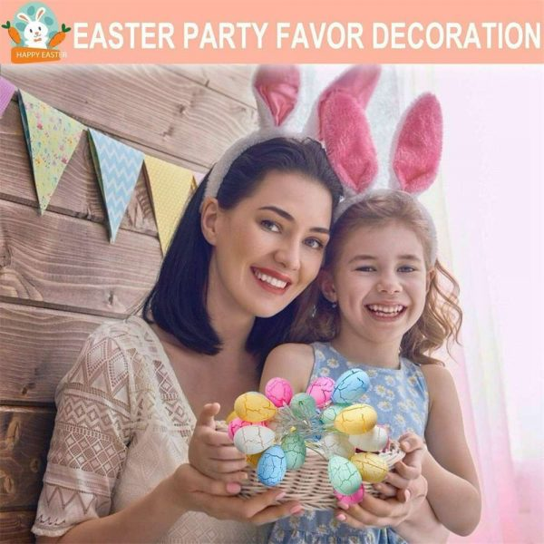 Easter Egg Decorations String Lights Led Festive Fairy Inoutdoor Home Party (15)