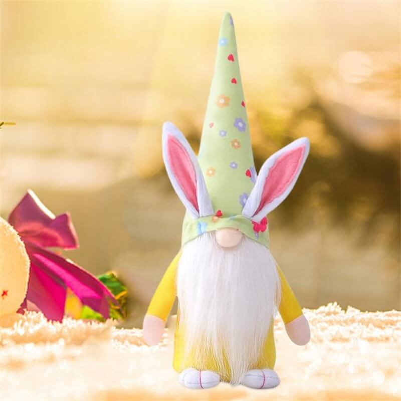 Easter Gnome Bunny Easter Gift Toy Elf Dwarf Home Household Ornaments (11)