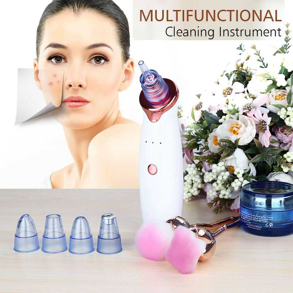 Electric Skin Care Facial Pore Cleanser Blackhead Acne Vacuum Cleaner Remover (13)