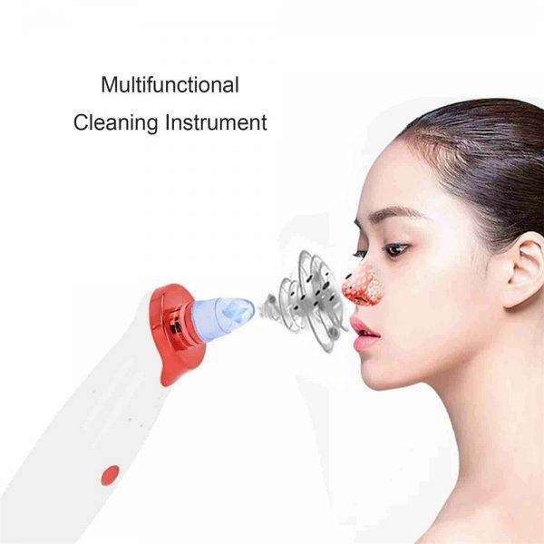 Electric Skin Care Facial Pore Cleanser Blackhead Acne Vacuum Cleaner Remover (14)