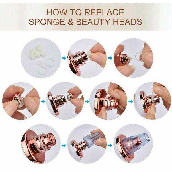 Electric Skin Care Facial Pore Cleanser Blackhead Acne Vacuum Cleaner Remover (8)